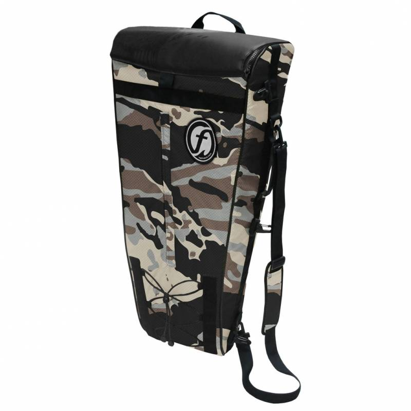 anglertasche feelfree camo fish cooler bag l desert camouflage