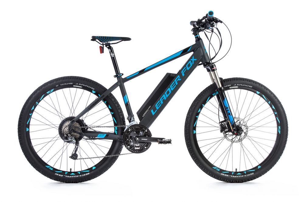 leader fox e bike mountainbike swan 275