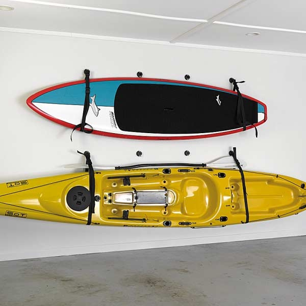 Kajak Lagerung Wandschlinge Halterung Aufbewahrung Befestigung Kanu Surfbrett