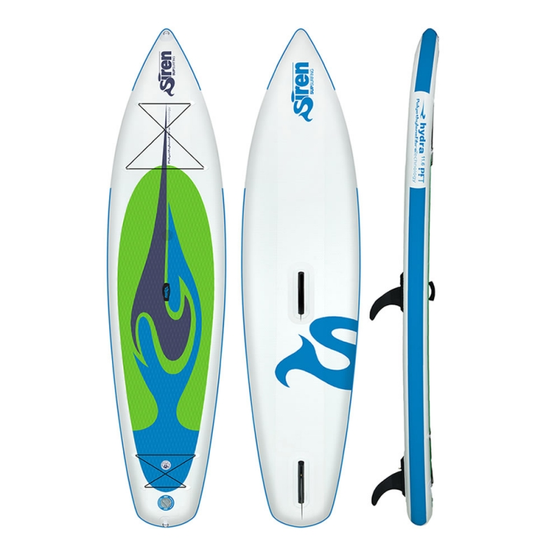 siren allround sup mit windsurf option hydra 116 pft