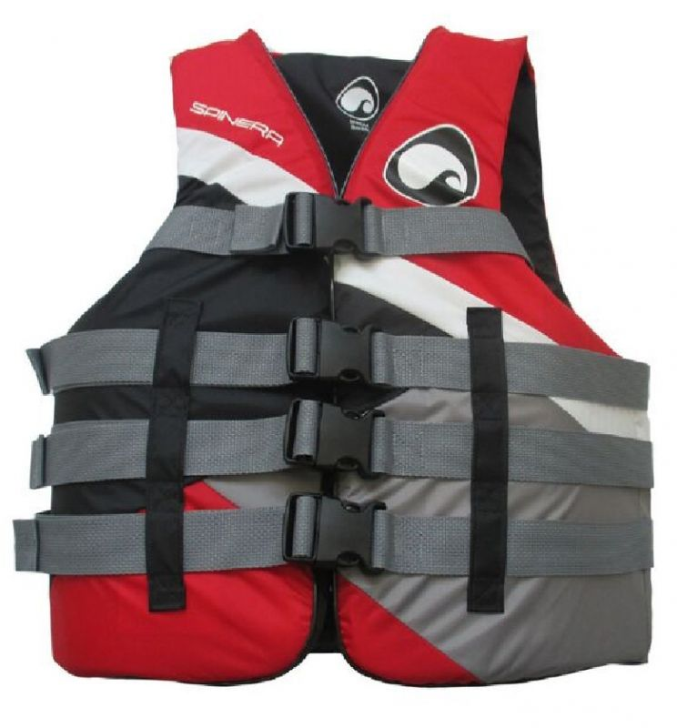 spinera schwimmweste allround 4 buckle nylon vest 50n